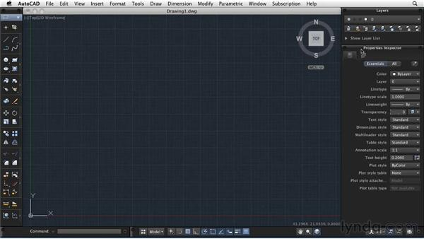 Organizing the palettes: AutoCAD 2011: Migrating from Windows to Mac