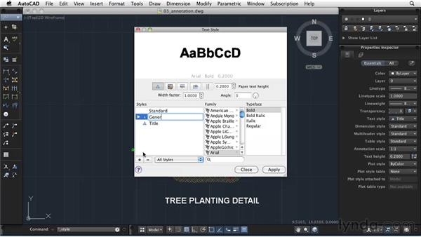 Adding annotations: AutoCAD 2011: Migrating from Windows to Mac