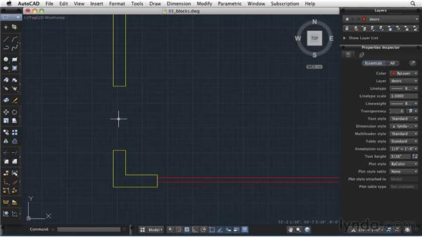 Creating and inserting blocks: AutoCAD 2011: Migrating from Windows to Mac