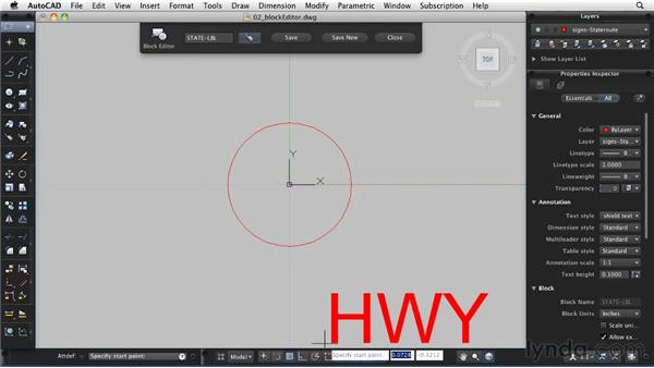 Using the Block Editor: AutoCAD 2011: Migrating from Windows to Mac