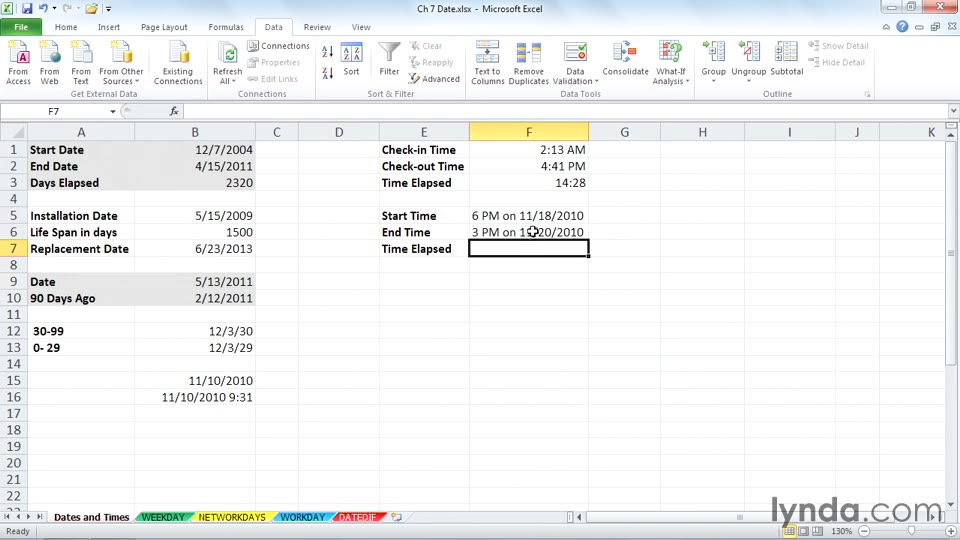advanced formulas and functions 2010 This 1 day course provides students with the knowledge and skills to the usage of useful formulas and functions in microsoft excel 2007 and microsoft excel 2010.