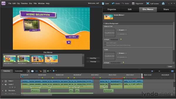 Understanding DVD authoring: Premiere Elements 9 Essential Training