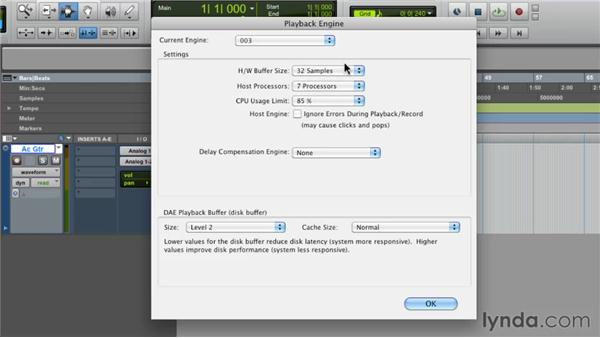 Recording audio: Pro Tools 9 Essential Training