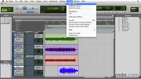 Dealing with latency and ADC: Pro Tools 9 Essential Training