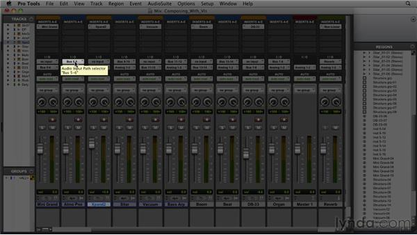 Composing with virtual instruments: Pro Tools 9 Essential Training