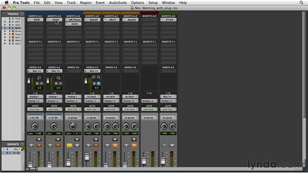Working with plug-ins: Pro Tools 9 Essential Training