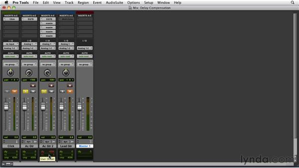 Utilizing ADC while mixing: Pro Tools 9 Essential Training