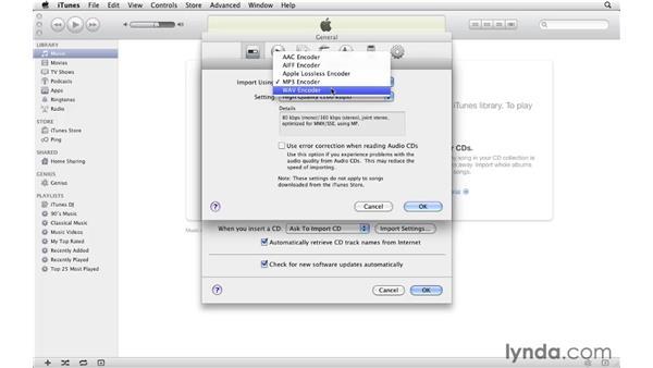 Understanding file formats: iTunes 10 Essential Training