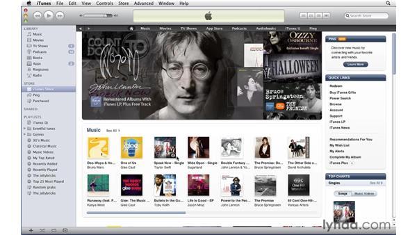 Redeeming iTunes gift certificates: iTunes 10 Essential Training