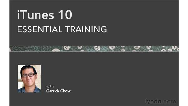 Goodbye: iTunes 10 Essential Training