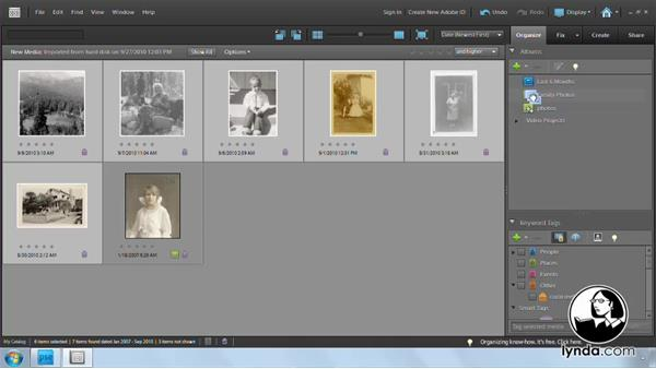 Welcome: Photoshop Elements 9: Scanning and Restoring Photos