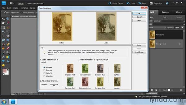 : Photoshop Elements 9: Scanning and Restoring Photos