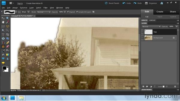Filling in missing pieces: Photoshop Elements 9: Scanning and Restoring Photos