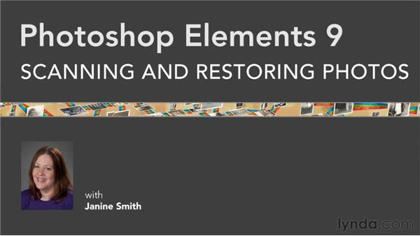 Final thoughts: Photoshop Elements 9: Scanning and Restoring Photos