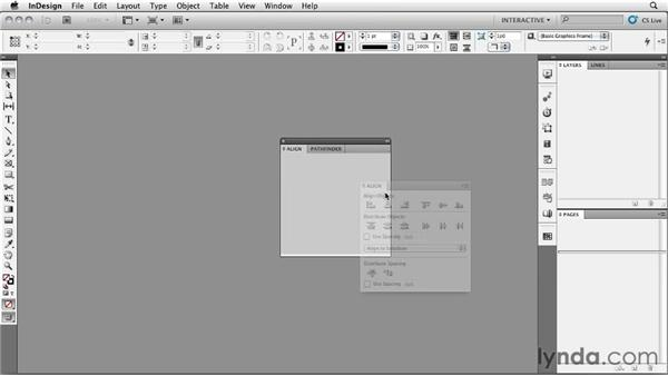 Customizing the workspace: InDesign CS5: Interactive Documents and Presentations