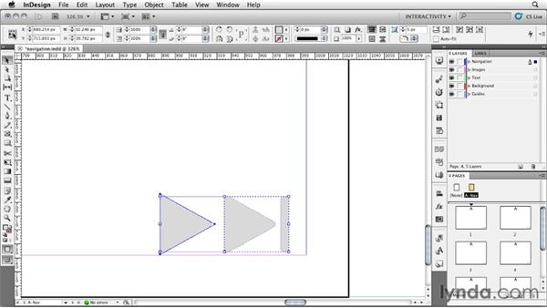 Creating a navigation system: InDesign CS5: Interactive Documents and Presentations