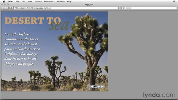 Using Page Turn vs. Page Curls: InDesign CS5: Interactive Documents and Presentations