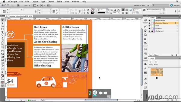 Creative tip: Breaking down a complex animation: InDesign CS5: Interactive Documents and Presentations