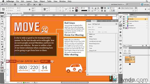 Taming the Timing panel: InDesign CS5: Interactive Documents and Presentations