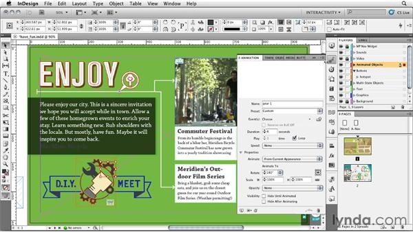Creative tip: Have fun!: InDesign CS5: Interactive Documents and Presentations