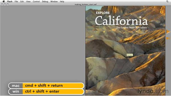 Fixing the buttons: InDesign CS5: Interactive Documents and Presentations