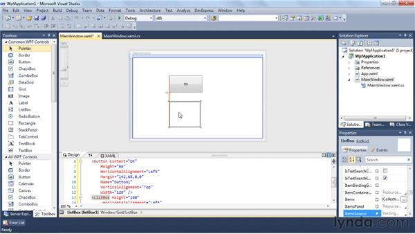 Creating a dramatic Windows application with Windows Presentation Foundation (WPF): Visual Studio 2010 Essential Training