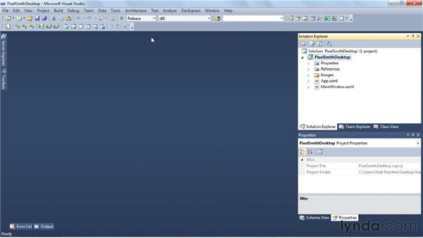 Deploying a basic Windows application: Visual Studio 2010 Essential Training