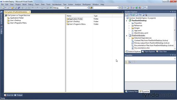 Creating an installer with Visual Studio: Visual Studio 2010 Essential Training