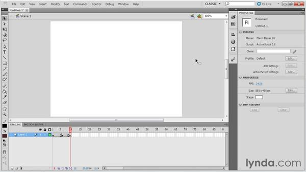 Prerequisites: Flash Professional CS5: Character Animation
