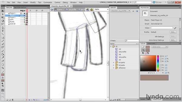 : Flash Professional CS5: Character Animation