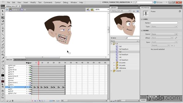 Integrating acting techniques : Flash Professional CS5: Character Animation