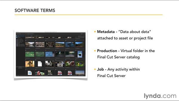 Final Cut Server terminology: Final Cut Server 1.5 Getting Started