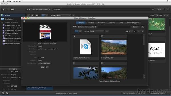 Exploring Final Cut Studio project files: Final Cut Server 1.5 Getting Started