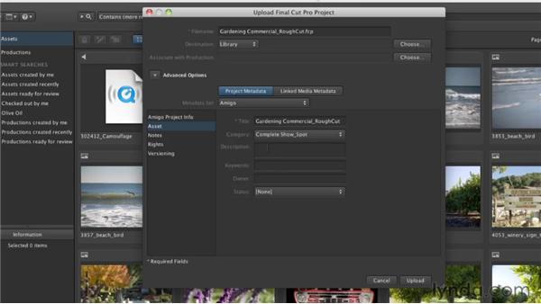 Using custom metadata: Final Cut Server 1.5 Getting Started