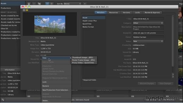 Archiving assets: Final Cut Server 1.5 Getting Started
