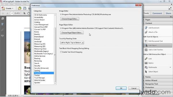 Editing images and graphics : Acrobat X Essential Training