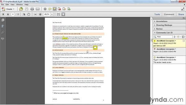 Exporting PDFs to Microsoft Word: Acrobat X Essential Training