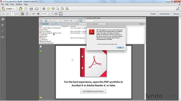 Optimizing backward compatibility: Acrobat X Essential Training
