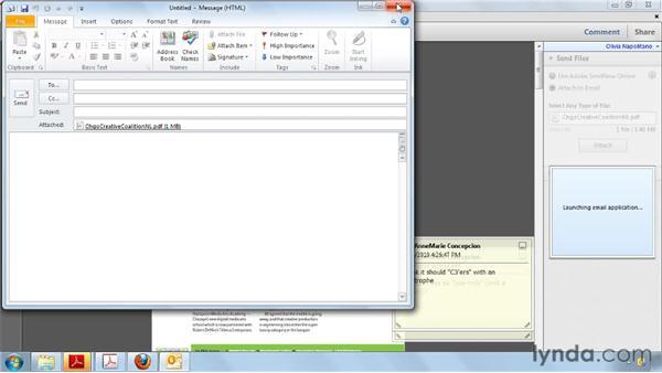 Sharing PDFs : Acrobat X Essential Training
