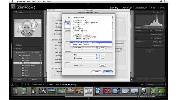 Customizing external editor naming: Lightroom 3 Advanced Techniques