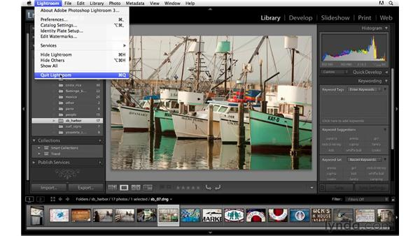 Catalog backup defaults: Lightroom 3 Advanced Techniques