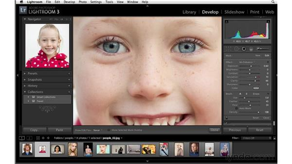 Enhancing eyes: Lightroom 3 Advanced Techniques