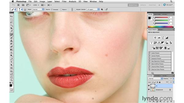Retouching workflow with Photoshop and Lightroom, pt. 1: Reducing blemishes: Lightroom 3 Advanced Techniques