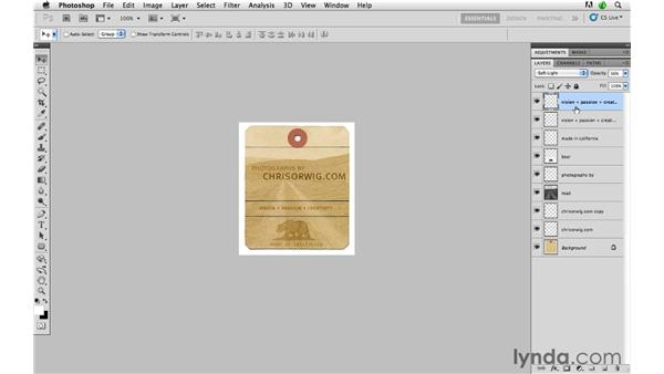 Designing a custom watermark in Photoshop: Lightroom 3 Advanced Techniques