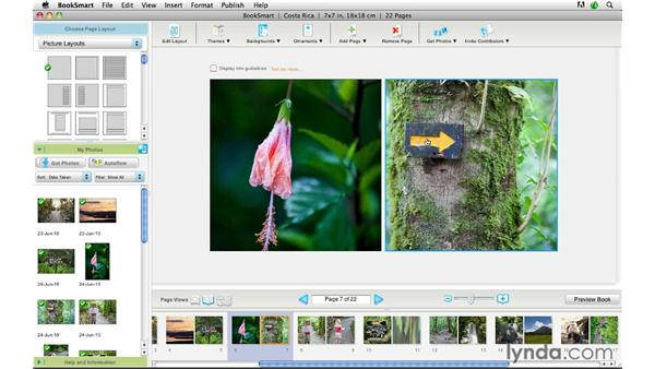 Building and designing a Blurb book: Lightroom 3 Advanced Techniques