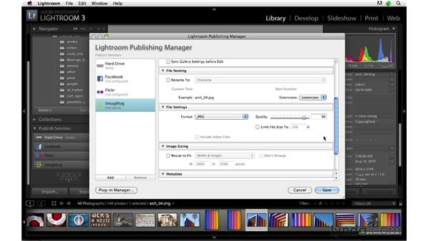 Publishing to SmugMug: Lightroom 3 Advanced Techniques