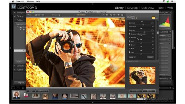 Accessing plug-ins: Lightroom 3 Advanced Techniques