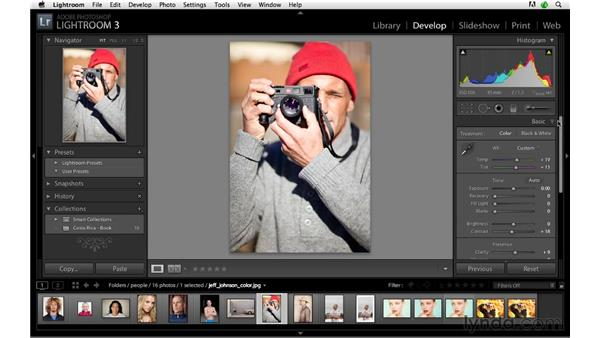Develop module shortcuts, pt. 3: Lightroom 3 Advanced Techniques