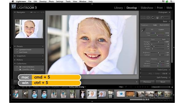 Develop module shortcuts, pt. 4: Lightroom 3 Advanced Techniques