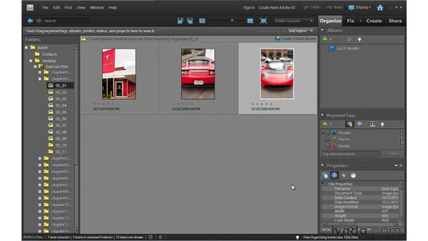 Touring the Organizer: Photoshop Elements 9 Essential Training